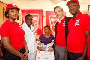MORTEIN PRESENTS GIFTS TO WORLD MALARIA DAY BABIES